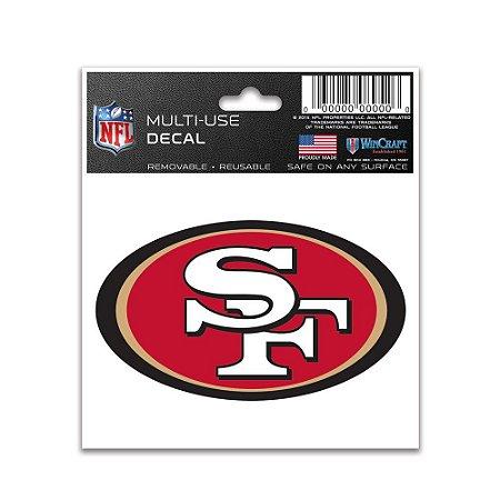 Adesivo Multi-Uso 8x10 NFL San Francisco 49ers