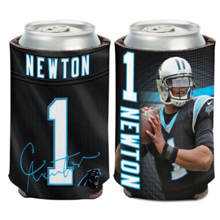 Porta Latinha Player Can Newton Carolina Panthers