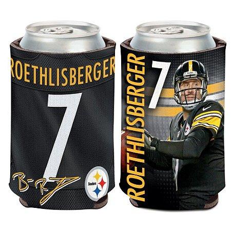 Porta Latinha Player Ben Roethlisberger Pittsburgh Steelers