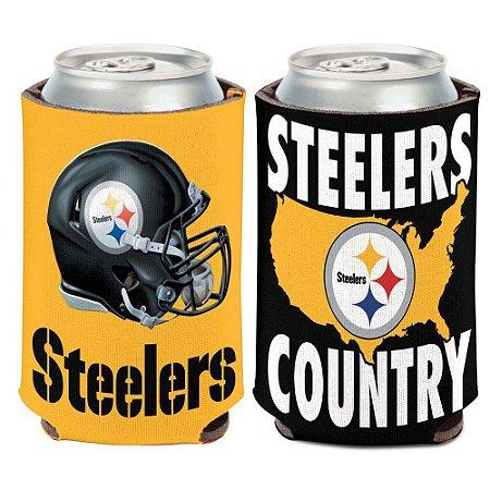 Porta Latinha State Team Pittsburgh Steelers
