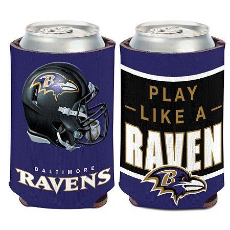 Porta Latinha Slogan Team Baltimore Ravens