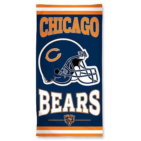 Toalha de Praia e Banho Standard Chicago Bears