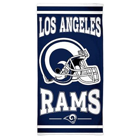 Toalha de Praia e Banho Standard Los Angeles Rams