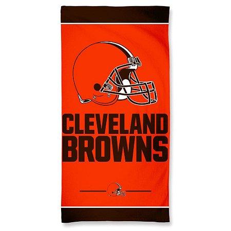 Toalha de Praia e Banho Standard Cleveland Browns