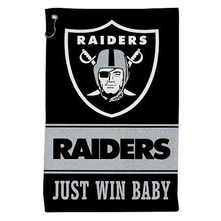 Toalha Sport NFL 40x64cm Oakland Raiders