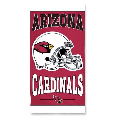 Toalha de Praia e Banho Standard Arizona Cardinals