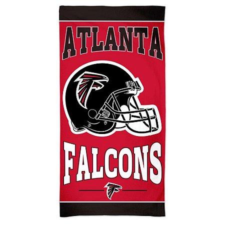 Toalha de Praia e Banho Standard Atlanta Falcons