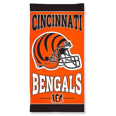 Toalha de Praia e Banho Standard Cincinnati Bengals