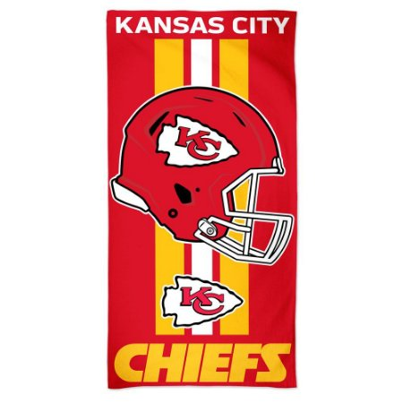 Toalha de Praia e Banho Standard Kansas City Chiefs