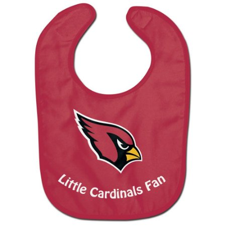 Babador Infantil Pequeno Fã Arizona Cardinals