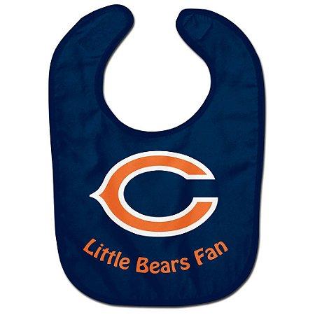 Babador Infantil Pequeno Fã Chicago Bears