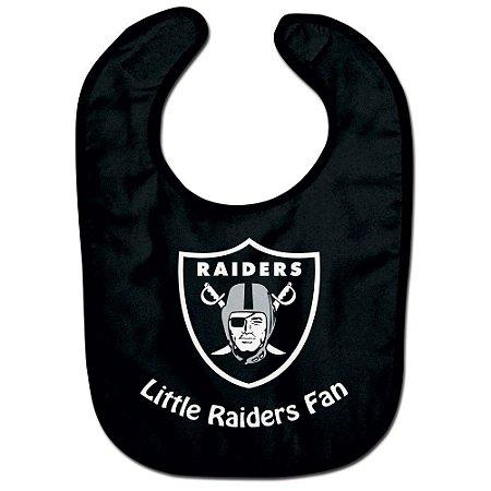 Babador Infantil Pequeno Fã Oakland Raiders