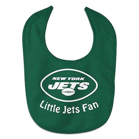 Babador Infantil Pequeno Fã New York Jets