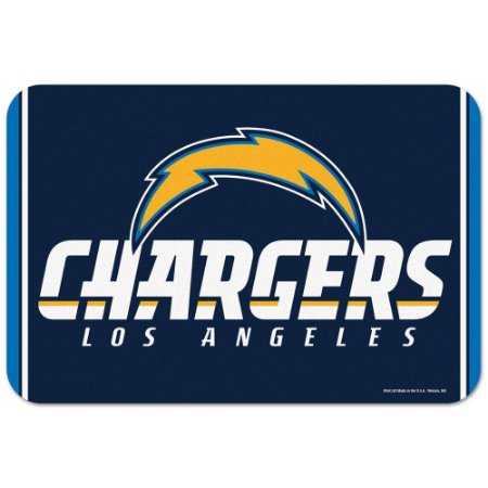 Tapete Decorativo Boas-Vindas NFL 51x76 Los Angeles Chargers