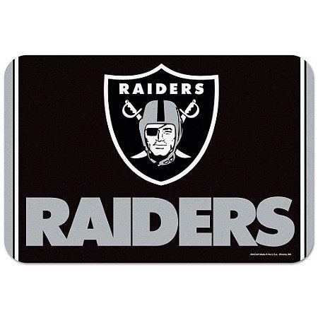 Tapete Decorativo Boas-Vindas NFL 51x76 Oakland Raiders