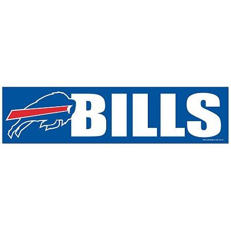 Adesivo Faixa Bumper Strip 30x7,5 Buffalo Bills