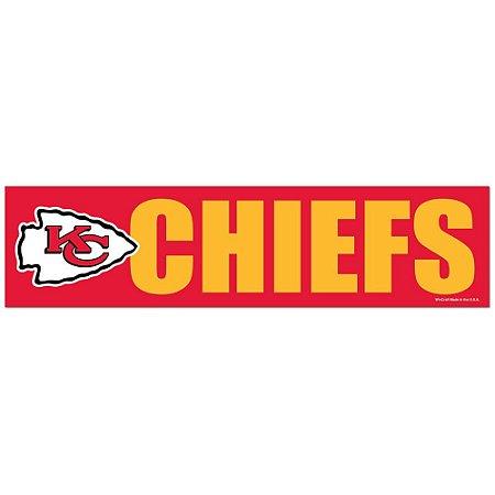 Adesivo Faixa Bumper Strip 30x7,5 Kansas City Chiefs