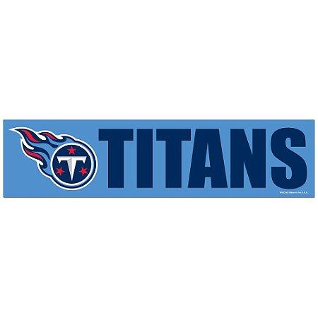 Adesivo Faixa Bumper Strip 30x7,5 Tennessee Titans