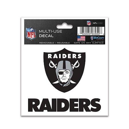 Adesivo Multi-Uso 8x10 NFL Oakland Raiders