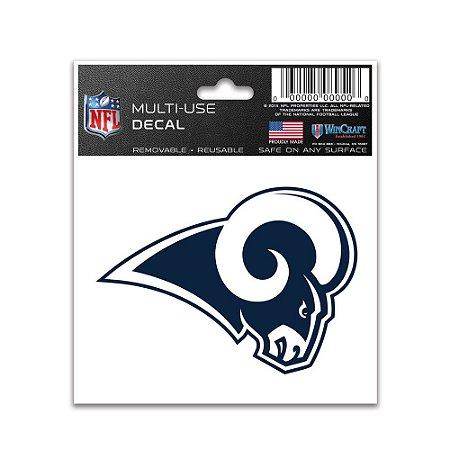 Adesivo Multi-Uso 8x10 NFL Los Angeles Rams