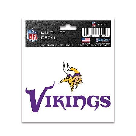 Adesivo Multi-Uso 8x10 NFL Minnesota Vikings