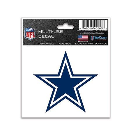 Adesivo Multi-Uso 8x10 NFL Dallas Cowboys