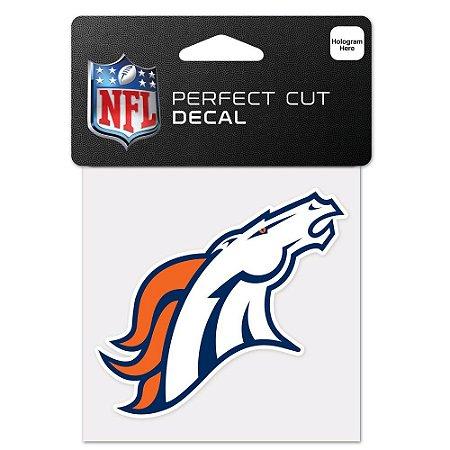 Adesivo Perfect Cut NFL Denver Broncos
