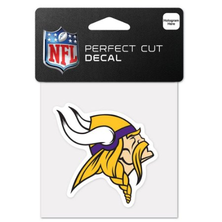 Adesivo Perfect Cut NFL Minnesota Vikings