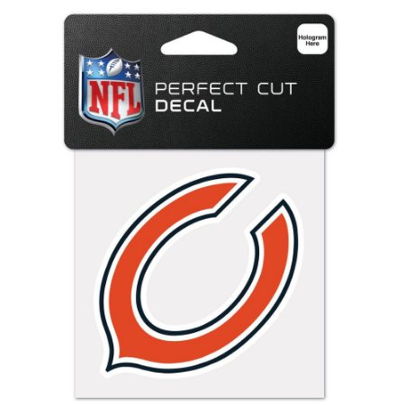 Adesivo Perfect Cut NFL Chicago Bears