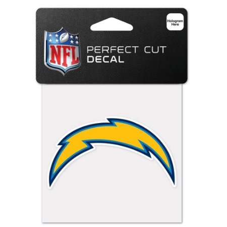 Adesivo Perfect Cut NFL Los Angeles Chargers