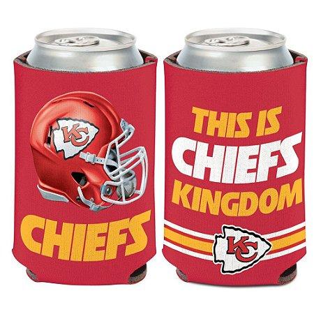 Porta Latinha Slogan Team Kansas City Chiefs