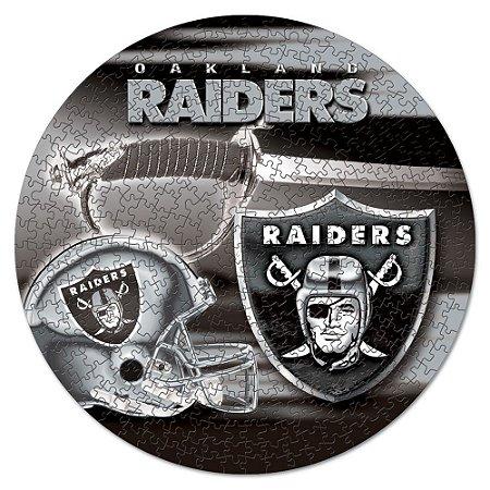 Quebra-Cabeça Team Puzzle 500pcs Oakland Raiders