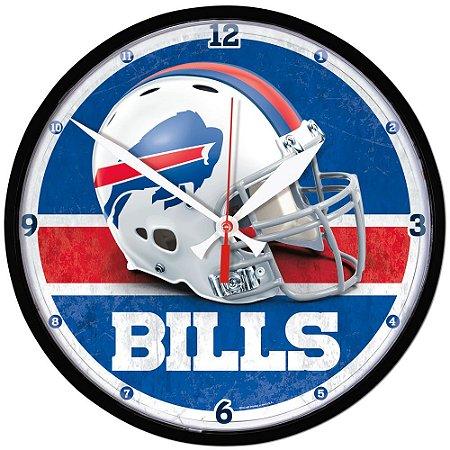 Relógio de Parede NFL Buffalo Bills 32cm