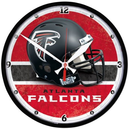 Relógio de Parede NFL Atlanta Falcons 32cm