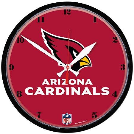 Relógio de Parede NFL Arizona Cardinals 32cm