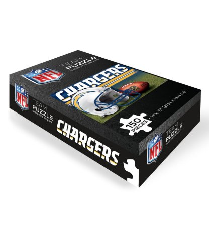 Quebra-Cabeça Team Puzzle 150pcs Los Angeles Chargers
