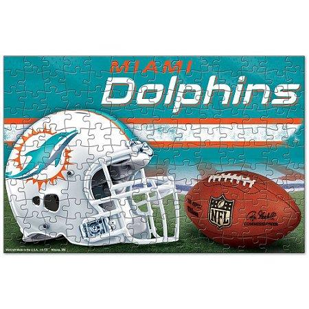 Quebra-Cabeça Team Puzzle 150pcs Miami Dolphins