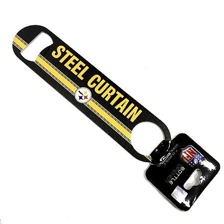 Abridor de Garrafas 2 Sided NFL Pittsburgh Steelers