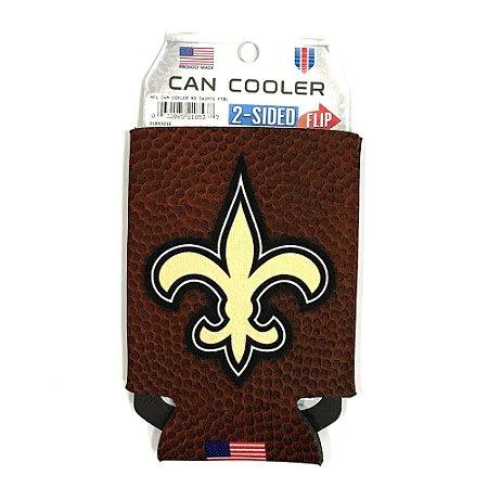 Porta Latinha Football NFL New Orleans Saints