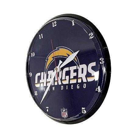 Relógio de Parede NFL San Diego Chargers 32cm