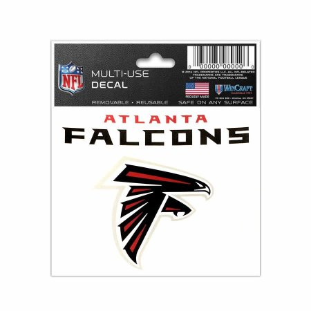Adesivo Multi-Uso 8x10 NFL Atlanta Falcons