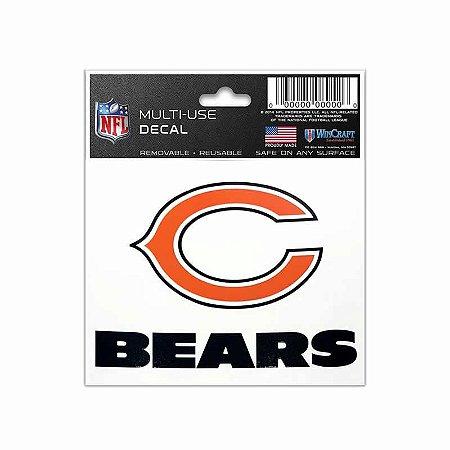 Adesivo Multi-Uso 8x10 NFL Chicago Bears