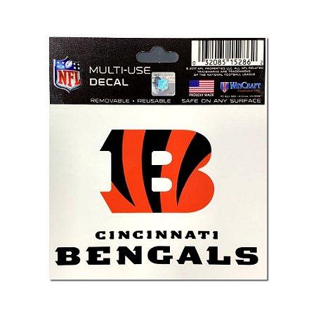 Adesivo Multi-Uso 8x10 NFL Cincinnati Bengals