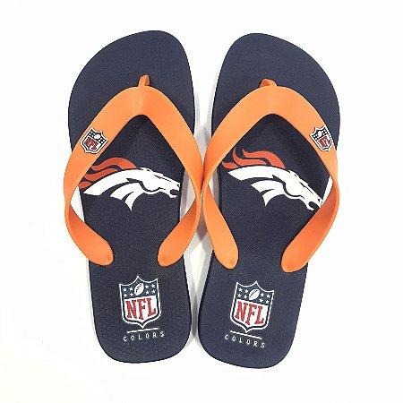 Chinelo de Dedo Denver Broncos Flip Flop - NFL