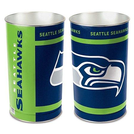 Cesto de Metal Wastebasket 38cm NFL Seattle Seahawks