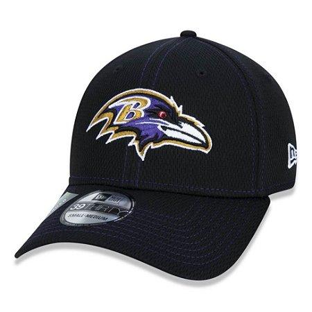 Boné Baltimore Ravens 3930 Sideline Road NFL 100 - New Era