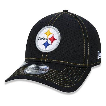 Boné Pittsburgh Steelers 3930 Sideline Road NFL 100 New Era