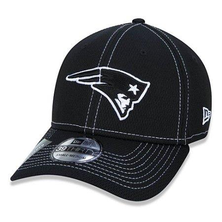 Boné New England Patriots 3930 Sideline Road Black NFL 100