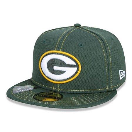 Boné Gren Bay Packers 5950 Sideline Road NFL 100 New Era