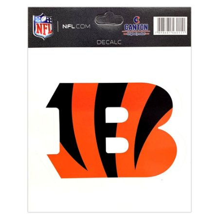 Adesivo Especial Cincinnati Bengals Logo NFL